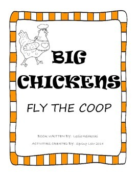 Big Chickens Fly the Coop - Book Activities