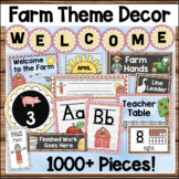 Farm Theme Classroom Decor Bundle