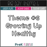 Big Day Theme 6: Lessons and Activities