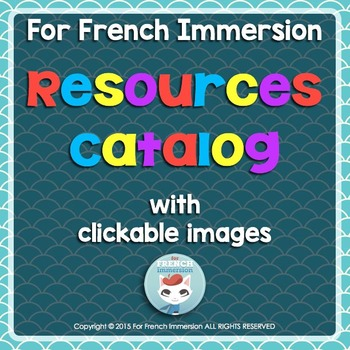 French Immersion Store Catalog