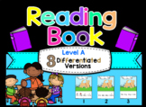 Adapted Level A (Big Dog) Book Unit & Comprehension (Autism / SPED)