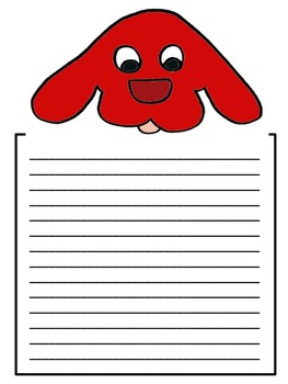 Big Dog Writing Paper