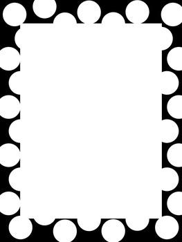 Dots and Stars Borders