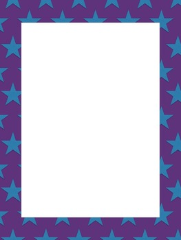 Dots and Stars Borders