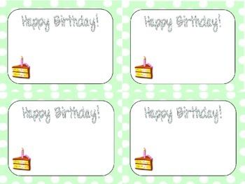 Big Dots Birthday Cards