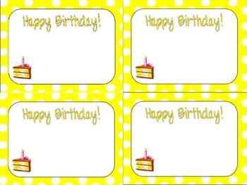 Big Dots Birthday Cards
