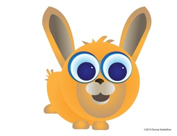 Big Eye Buddies Pets and Farm Animals Clip Art and More