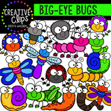 Big-Eye Bugs and Insect Clipart {Creative Clips Clipart}