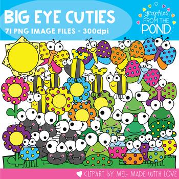 Big Eye Cuties - Clipart for Teaching