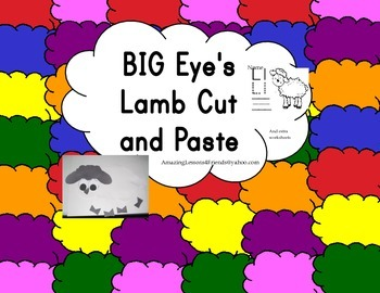 Big Eye's Lamb Cut and Paste