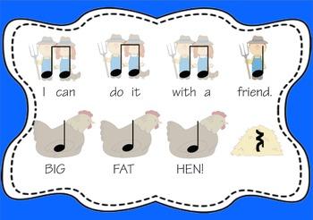 Big Fat Hen: A Rhythm Activity