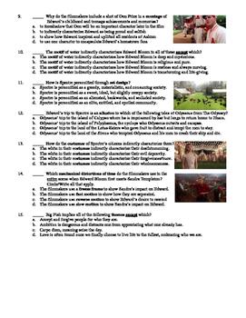 Big Fish Film (2003) 15-Question Multiple Choice Quiz