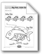 Big Fish, Little Fish (letter/sound association for 'f')