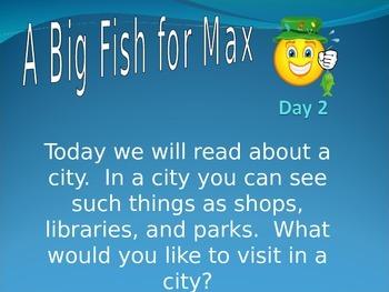 Big Fish for Max - Phonics Phonemic Awareness PowerPoint