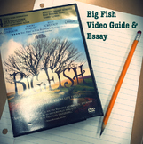 Big Fish Short Story Elements video guide and essay assignment