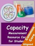 """""""Big G"""" Capacity Measurement Resource Card"""