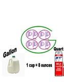 Big G - Gallon Conversion