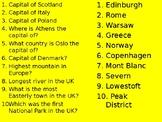 Big Geography Quiz