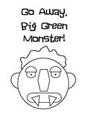 Big Green Monster (Ed Emberley) Printable