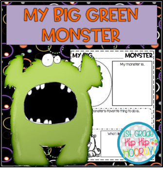 Crafts and Activities to Accompany My Big Green Monster!