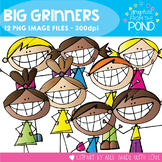 Big Grinners - Scrappy Kids Clipart