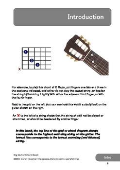 Big Guitar Chord Book: 500+ Guitar Chords