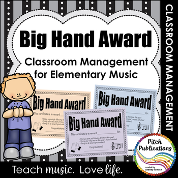 big hand award editable reward system for the elementary music