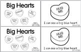 Big Hearts Valentine's Day -- 4 Leveled Emergent Sight Wor