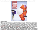 Big Hero 6 Condensed Movie Guide and Answer Key