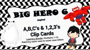 Big Hero Clip Cards