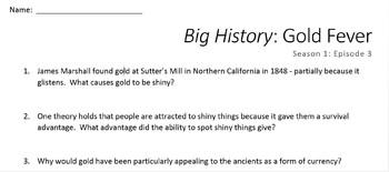 Big History: Gold Fever (Season 1: Episode 3)