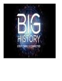 Big History- H2O