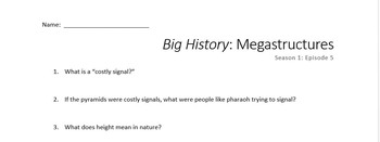 Big History: Megastructures (Season 1: Episode 5)
