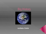 Big History Timeline Powerpoint