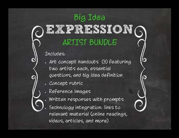 Big Idea: Expression Bundle--EQs with Criticial Thinking Response Papers