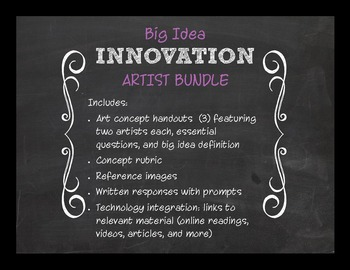 Big Idea: Innovation Bundle--EQs with Criticial Thinking Response Papers