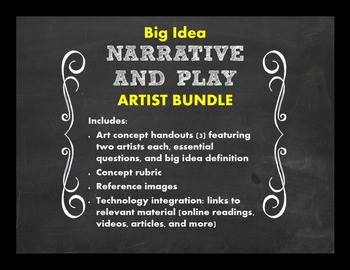 Big Idea: Narrative and Play Bundle--EQs with Criticial Thinking Response Papers