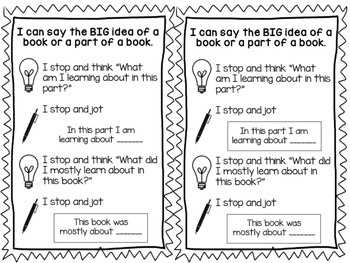 Big Idea Non-fiction Bookmark
