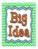Big Idea and Essential Questions Poster set