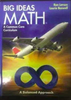 Big Ideas 8th grade Pre-Algebra Blue chapter 2,3,4,5 power points, scaffold note
