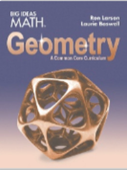 Big Ideas Geometry Ch 6,7,8 and 9 PowerPoints 100% pass rate