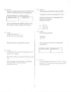Big Ideas Grade 8 Math Curriculum Chapter 10 test