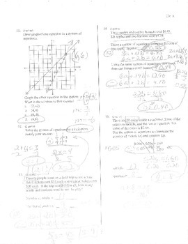 Big Ideas Grade 8 Math Curriculum Chapters 5-6