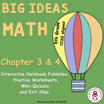 Big Ideas Math Foldables for Chapters 3 and 4