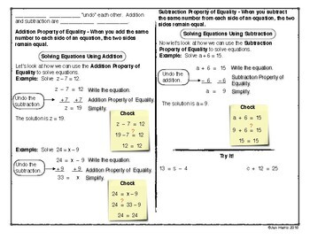 Big Ideas Math Foldables for Chapters 7 and 8