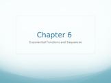 Big Ideas Math High School Algebra Chapter 6 Exponents Powerpoint