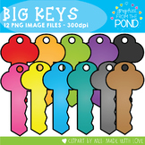 Big Keys - Clipart for Teachers and Classrooms