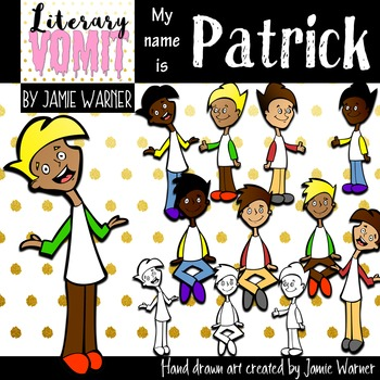 Big Kid Clipart: Meet Patrick
