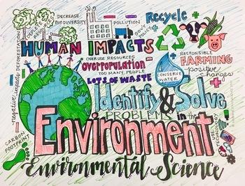 Big Kid Environmental Science Coloring