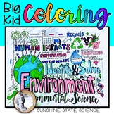 Big Kid Environmental Science Coloring